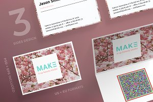 Business Cards | Make It Up Beauty
