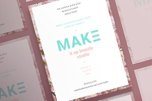 Posters | Make It Up Beauty