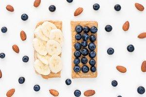 Healthy snack concept