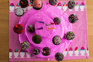 Handmade Cake of Cake-Pop