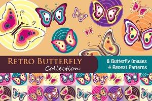 Retro Butterfly