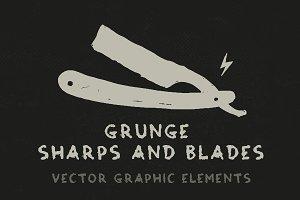 Grunge Sharps and Blades
