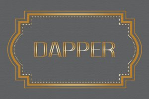Dapper OTF Font