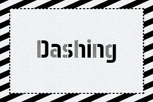Dashing OTF Font