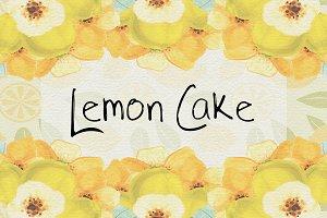 Lemon Cake OTF Font
