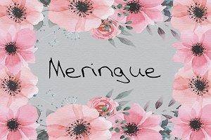 Meringue OTF Font