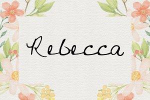 Rebecca OTF Font