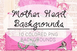Mother Heart Backgrounds