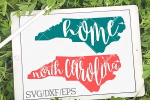 North Carolina Home DXF, SVG, EPS