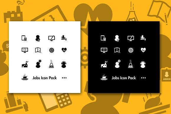 Jobs Icon Pack