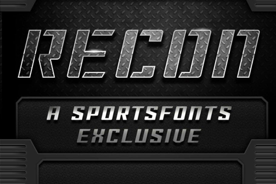 Sportsfont Recon