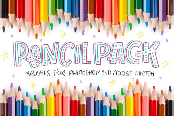 Pencil Pack PS Brushes