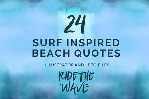 24 Vector Surf Quotes