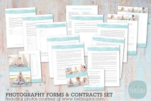 NG036 Photography Contracts & Forms