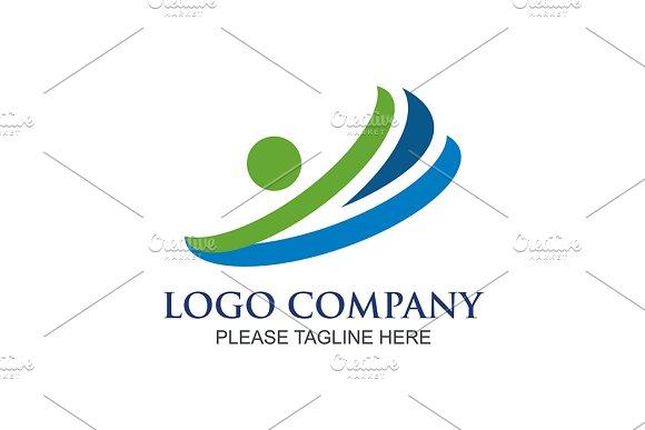 Abstract Bank Logo