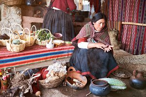 Traditional alpaca handmade factory