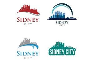 4 - Sidney Skyline Landscape Logo