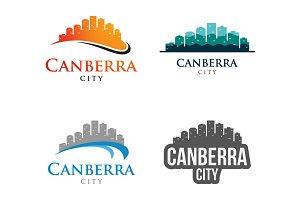 4 - Canberra Skyline Landscape Logo