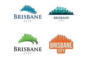 4 - Brisbane Skyline Landscape Logo