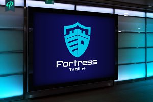 Fortress - Crest Logo Template