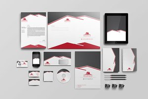 Real Estate Corporate Identity set