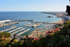 port of Blanes in Spain