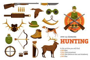 Hunting Flat Set