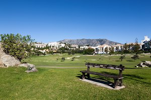 Golf course in Andalucia Spain