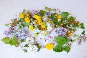 Floral jumble