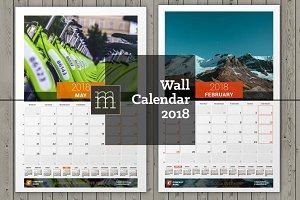 Wall Calendar 2018 (WC030-18)