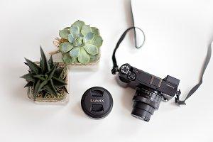 Camera still life