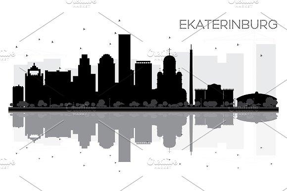 Yekaterinburg City Skyline