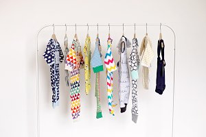 Colourful Baby clothes
