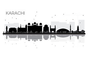 Karachi City skyline