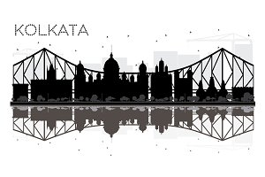 Kolkata City skyline