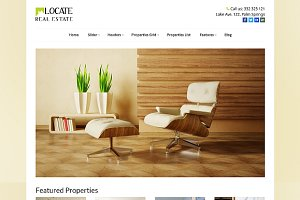 Locate - WordPress Real Estate Theme