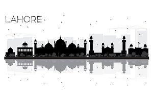 Lahore City skyline