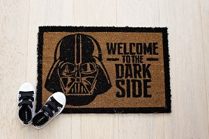 Darth Vadar doormat