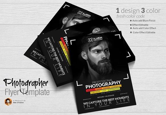 Photographer Flyer-Graphicriver中文最全的素材分享平台