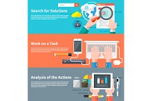 Search for solutions infographic