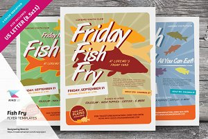 Fish Fry Flyer Templates