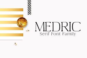 Medric Serif 4 Font Family