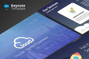 Cloud Biz - Keynote Template