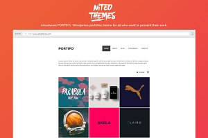 Portifo - portfolio WordPress theme
