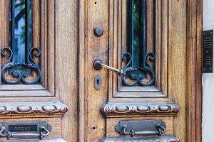 Vintage Handle Detail