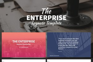 Enterprise - Keynote Template