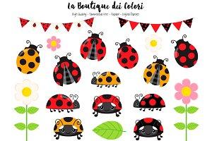 Red Ladybug Clip art