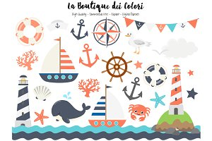 Nautical Vector Clip Art