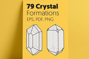 20% OFF | 79 Crystal Formations