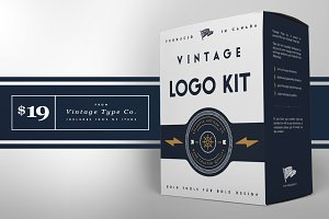 The Vintage Logo Kit